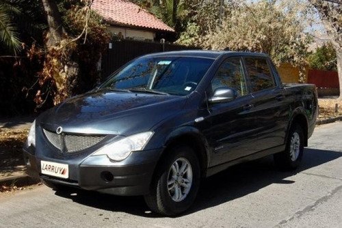 ssangyong actyon sport actyon sport 2.0 2011