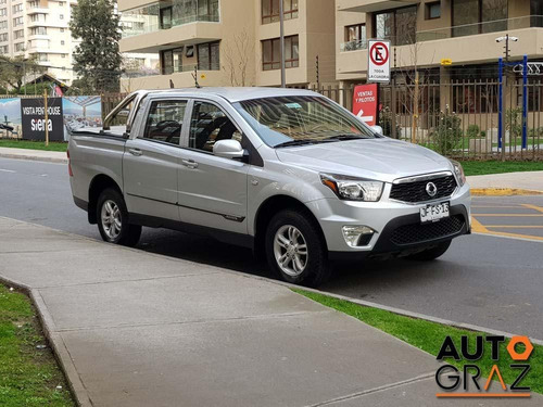 ssangyong actyon sports 2.2 diesel 2017