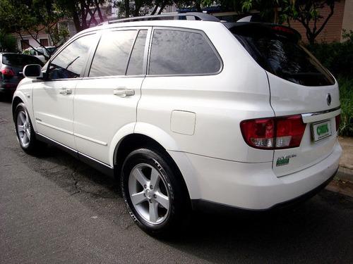 ssangyong kiron 2009 2.7 diesel 4x4