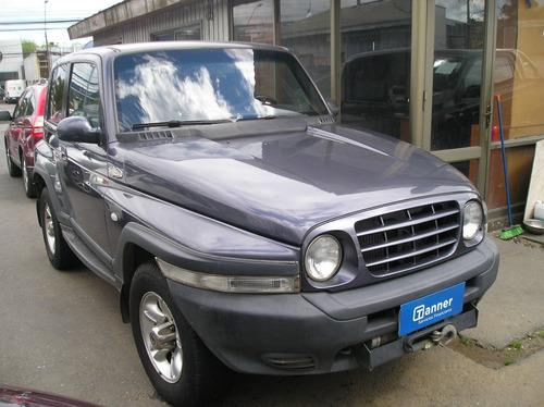 ssangyong korando 2.9 at diésel 2006 oferta !!!