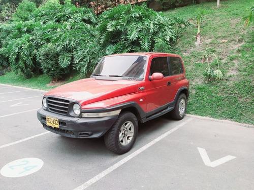 ssangyong korando 4x4 (4wd) diésel mt 2005 2,9l