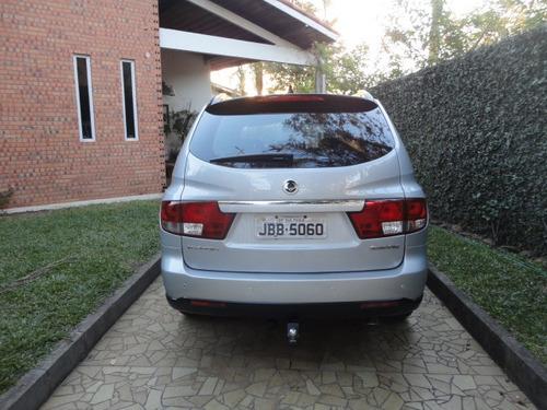 ssangyong kyron 2.0 turbo diesel 2010 automatica prata !!!!!