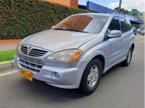 ssangyong kyron  diesel   4x4  mec 2007