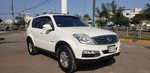 ssangyong modelo new rexton 4x4 automatica petrolera