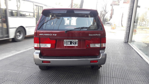 ssangyong musso 602 td 2001