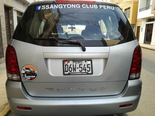 ssangyong rexton 2005 2.9 turbodiesel 4x4