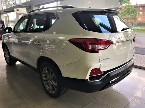 ssangyong rexton g4 turbo gasolina 4x4 automatica