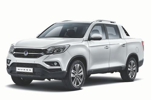 ssangyong rexton sports 5 pas 4p platón 2.2 turbo diesel 4x4