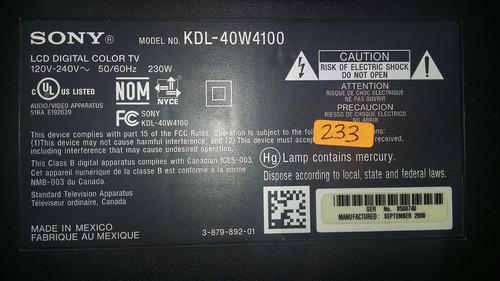 ssb400w20s01 inverter mod.kdl-40w4100