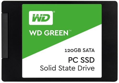 ssd 120 gb wd green 2.5 120gb 7mm pronta entrega + nf