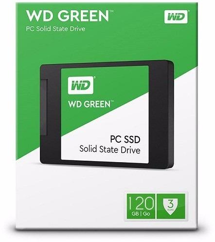 ssd 120 gb wd green sata 6gb/s oferta promocao