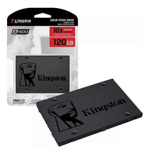ssd 120gb kingston sa400s37/120gb 2.5 pc y lap estado solido