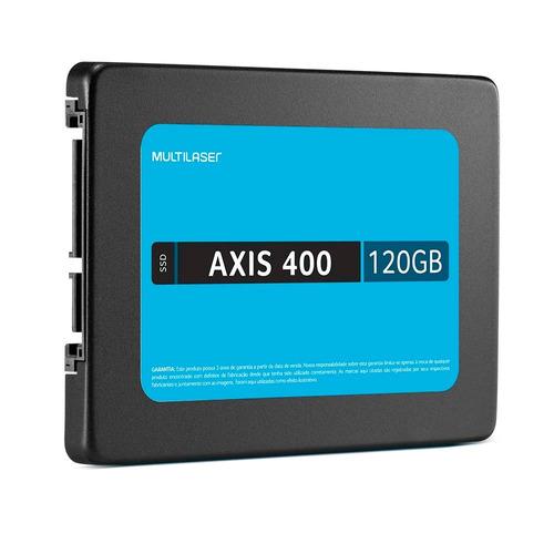 ssd 120gb multilaser axis 400 400mb/s 2,5'' sata iii oferta