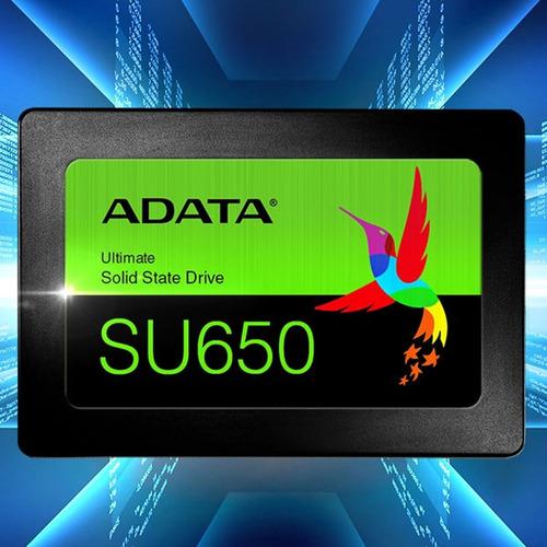 ssd 240gb adata disco duro ssd su650 pc laptop asu650ss-240g