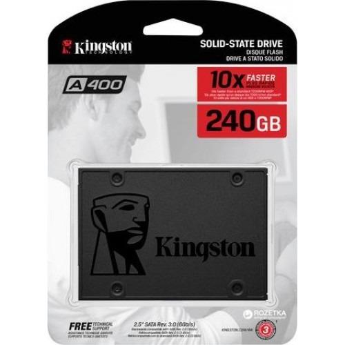 ssd 240gb kingston  sata 3 a400 2,5  novo lacrado