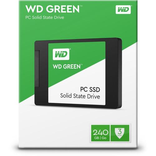 ssd 240gb wd green 540mb/s sata 3 2,5 6gb/s frete gratis