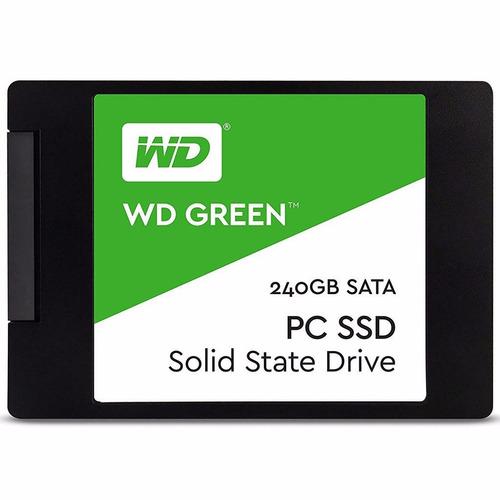 ssd 240gb wd green 540mb/s sata 3 7mm 2,5 + nf