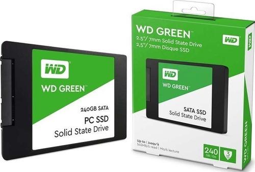 ssd 240gb western digital green 540mb/s sata 3 + nf