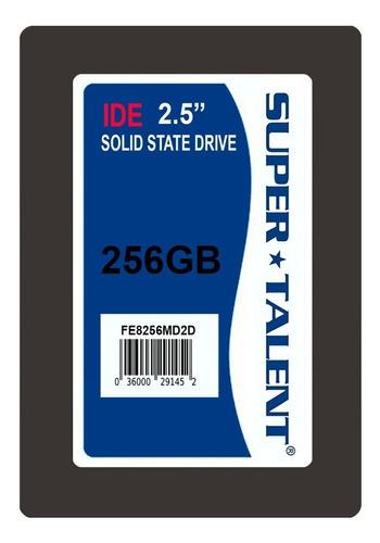ssd 2.5 9.5mm super talent duradrive et3 256gb ide/pata