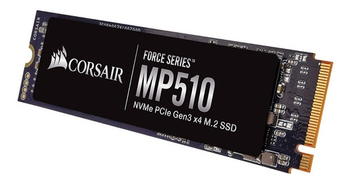 ssd corsair mp510 m.2 pci-e nvme 240gb cssd-f240gbmp510