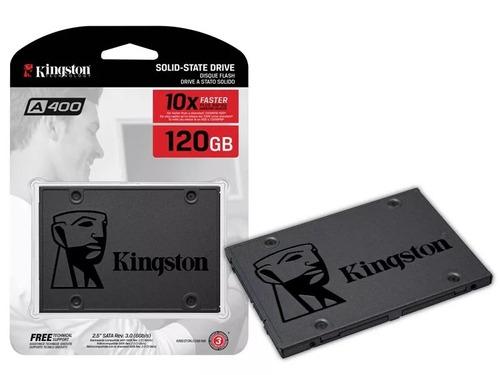 ssd kingston 120gb a400 sata 3 lacrado pronta entrega