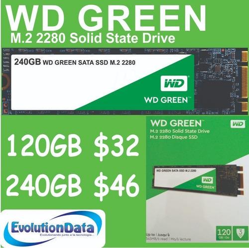 ssd m.2 120gb 240gb wd western digital disco solido laptop