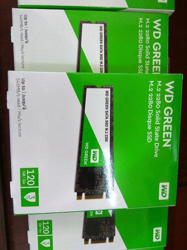 ssd m.2 120gb western digital m.2 2280 - nuevo - facturado