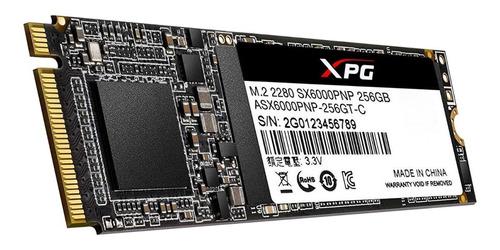 ssd m.2 adata xpg sx6000 pro 256gb asx6000pnp-256gt-c - novo