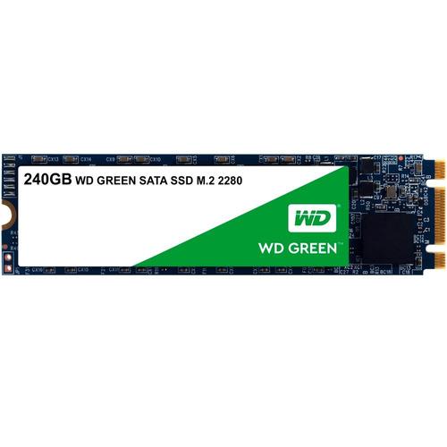 ssd m.2 m2 sata wd green 240gb 2280 wds240g2g0b novo 12x