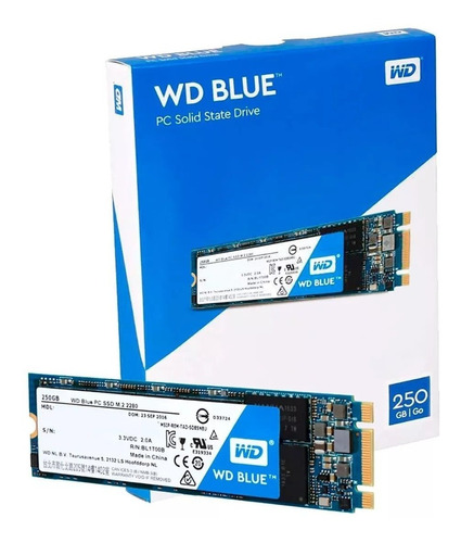 ssd m.2 wd 1tb blue 2280 leitura 545mbps wds100t1b0b-00as40