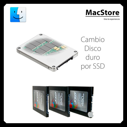 ssd para macbook, aumenta velocidad mac normal a mac retina