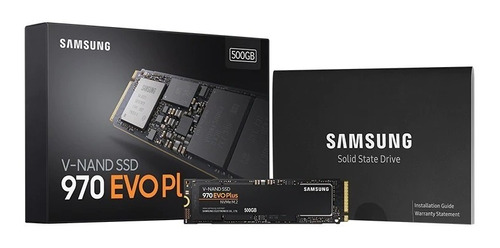 ssd samsung 970 evo plus 500gb m.2 pcie 3.0 (en stock)