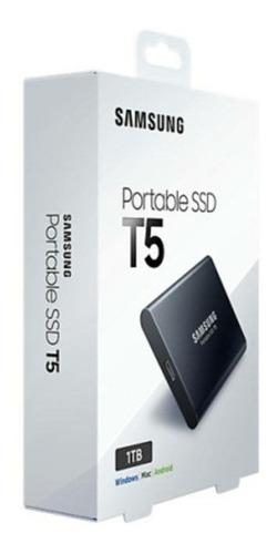 ssd t5 samsung 1tb portátil externo usb3.1 lacrado 12xs/j