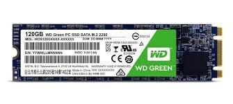 ssd western digital wd green ultrabook sata m.2.2280 120gb