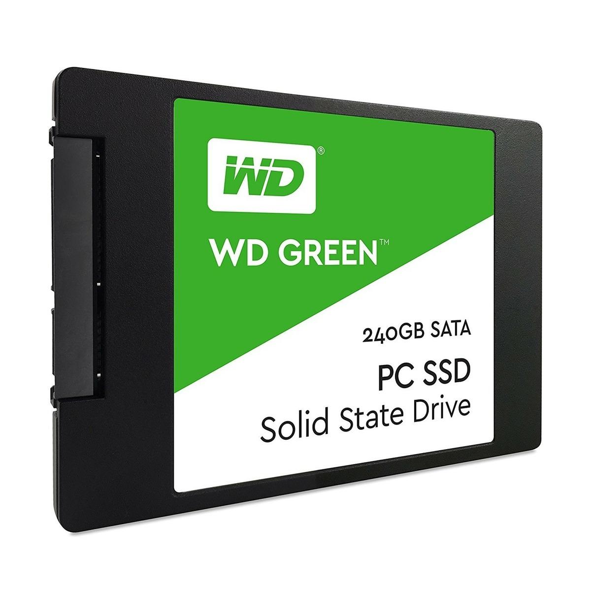 Ssd Western Digital Wds240G2G0A-240 Gb-Serial Ata Iii-545 Mb-S-6 Gbit-S