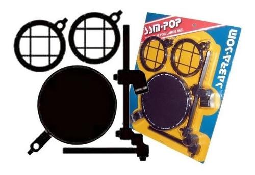 ssm-pop sabra tela anti puff filtro pop filter shock mount