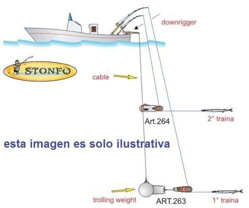 ssp2 planeador de acero inoxidable #2 - sea striker