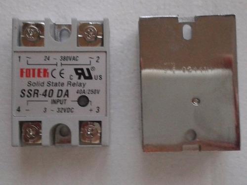ssr-40 da relevador de estado solido fotek ssr 40 da