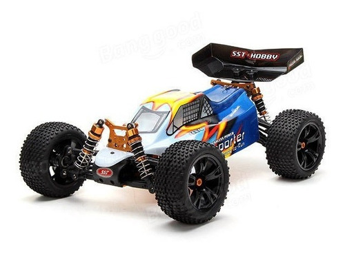 sst rtr 1937 2.4g 1/10th 4x4  brushless coche rc / lipo incl