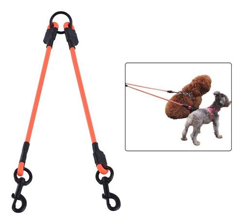 sst002p pvc redondo doble correa de trabajo para perros