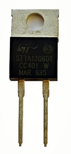 sstth12r06di rectificador de alta tensión st  x2 unidades
