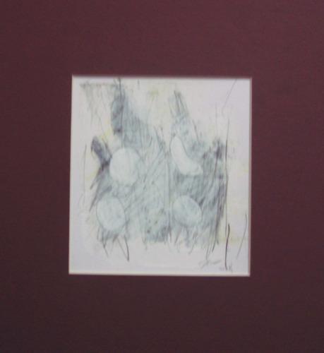 s/t, grafito y acrílico / papel, 12 x 11 cm