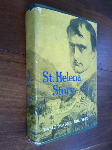 st. helena story - dame mabel brookes (napoleón - inglés)