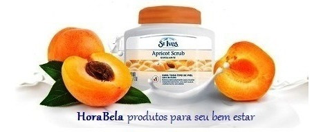 st ives apricot scrub damasco esfoliante facial - pote 340g