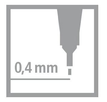 stabilo point 88 kit 25+5 neon canetas fineliner cores dife.
