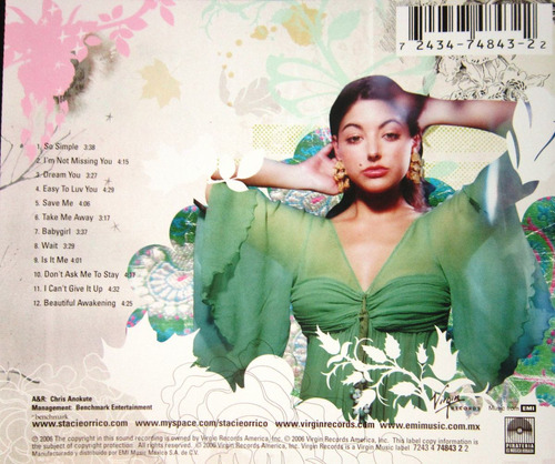 stacie orrico - beautiful awakening cd