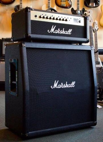 stack marshall cabezal mg100fx caja 4x12 gtia envio tarjetas!
