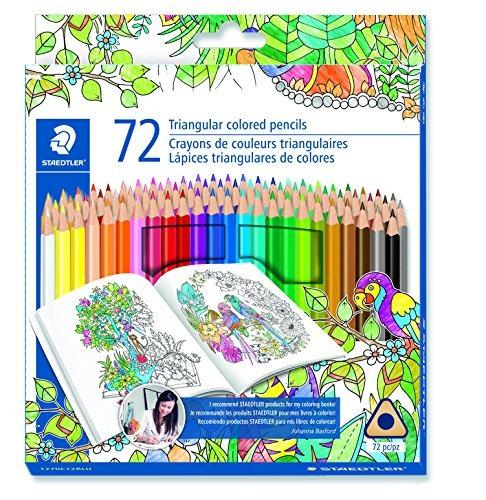 staedtler para colorear lápiz lápiz de madera de color (1...