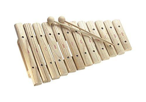 stagg xylo-j12 xilofono de 12 teclas con mazos