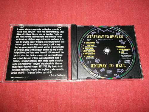stairway to heaven highway to hell cd usa ed 1989 mdisk
